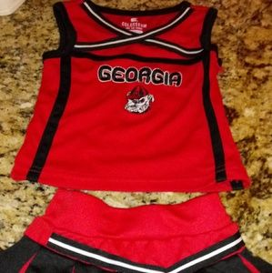 Infants Georgia Bulldogs Outfit